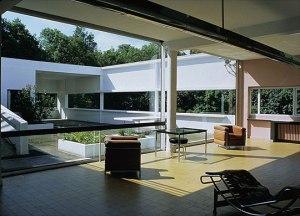 corbusier Villa Savoye int-ext